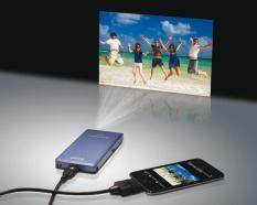 Máy chiếu (Projector) mini bỏ túi (Độ nét cao) tiện giải trí hoặc làm việc (Hàng VIP của Agiadep)