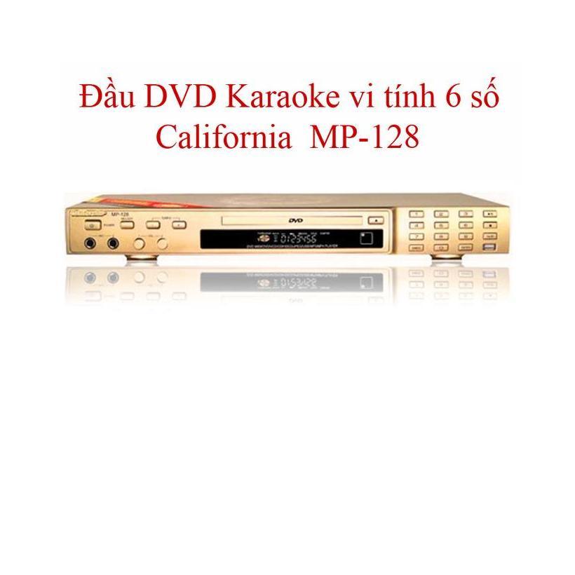 ĐẦU DVD CALIFORNIA MP-128 (vàng)