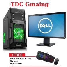 Bộ máy tính game intel core i5 2400 Ram 8gb 250gb và Màn hình Dell 19 inch Wide LED + Tặng bàn phím chuột gaming LangTu