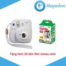 Máy chụp ảnh lấy ngay Fujifilm Instax mini 9 – Tặng kèm 2 hộp giấy in FujiFilm 10 tấm – Hãng phân phối chính thức.