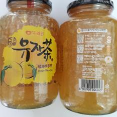 Mật ong chanh Hàn Quốc bộ 2 lọ 1kg-PP Sâm Yến Thái An