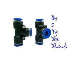 Cập Nhật Giá Bộ 5 tê nhựa nối nhanh ống 8mm