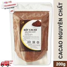 Cacao nguyên chất 100% – Light Cacao – 200gr