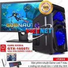 Bảng Giá Máy tính game khủng G4600 card GTX-1050Ti RAM 8GB 500GB (LCD Dell 22 inch) VietNet chiến game Witcher 3, Subnautica, GTA 5, Batterground, LOL, Fifa v.v…