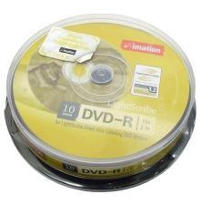 Hộp 10 đĩa CD-R Imation Lightscribe