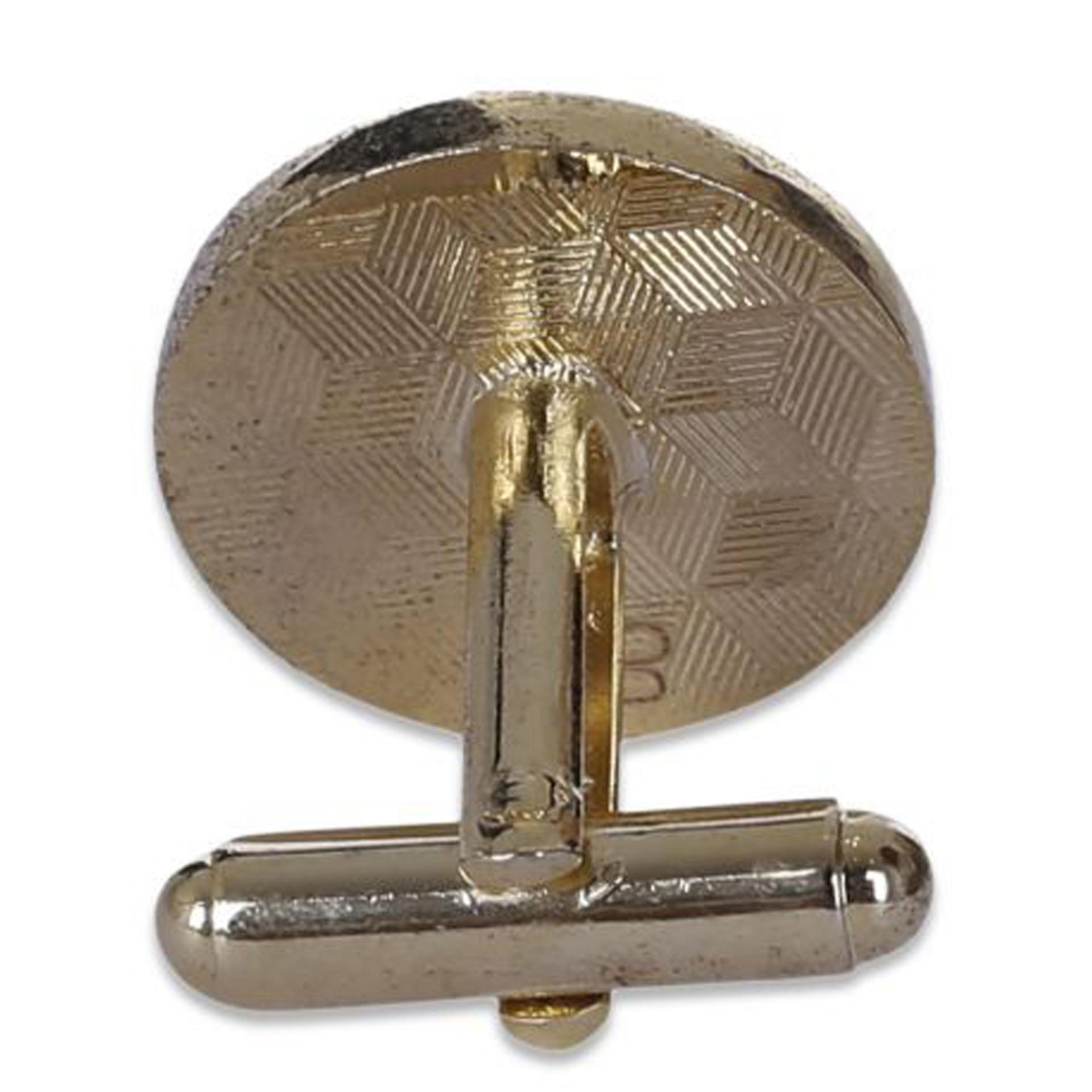 Bộ KMC và KCV tròn đính đá nhỏ Barishidi Paris vàng