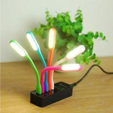 Bộ 5 Đèn Led Siêu Sáng Cổng USB Nhiều Màu