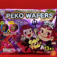 Bánh Chocolate Wafers Peko Halloween (13 thanh – 110gr)