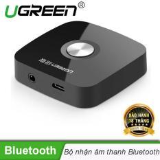 Bộ nhận âm thanh Bluetooth đầu ra 3,5mm (kết nối bluetooth 4.1 từ điện thoại, máy tính bảng sang loa, amply) UGREEN 30444 – Hãng phân phối chính thức