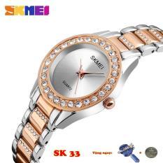 Đồng hồ nữ SKMEI SK33-35 dây thép