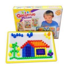 Đồ chơi ghép hạt phát triển tu duy cho trẻ