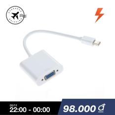 Cáp chuyển đổi điện áp Displayport Mini DP sang VGA cho Apple MacBook Pro AiriMAC-quốc tế