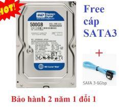 Ổ cứng HDD WD Blue Caviar 500GB Hãng phân phối(New – BH 24T)