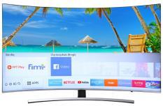 Smart Tivi Cong Samsung 4K 55 inch UA55NU8500 Mới 2018