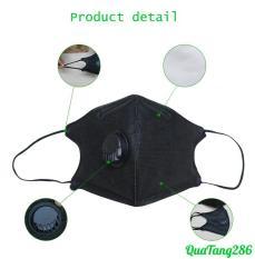 Khẩu trang chống bụi, có van thở phong cách Hàn Quốc PM2.5