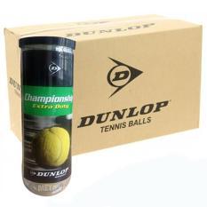 1 thùng bóng tennis dunlop 3