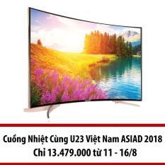 Smart Tivi Led màn hình cong Asanzo 55inch 4K Ultra HD – Model SU55S6 (Đen)