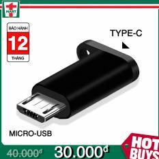 Adapter vào Type C ra MicroUSB – Hỗ trợ sạc nhanh