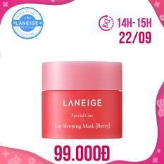 Mặt nạ ngủ cho môi Laneige Lip Sleeping Mask Berry Miniature 8g