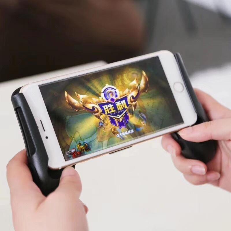 Tay Cầm Kẹp Điện Thoại Gamepad Tay Cầm Chơi Game Liên Quân, Game BUPG, ROS Trên Điện Thoại Cho Màn Hình Lên Đến 6.5 Inch Detek