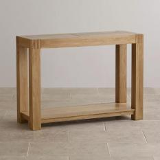 Bàn console 2 ngăn kéo Alto gỗ sồi