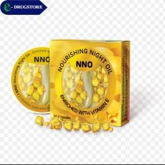 NNO(Nourishing Night Oil) Viên dưỡng trắng da ban đêm. Hộp 30 viên nang mềm