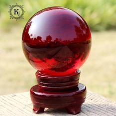 }Quả Cầu Phong Thủy Thủy Tinh Đỏ – Xoay Chuyển Thời Vận – Thăng Quan Tiến Chức – Hợp Mệnh Hỏa, Thổ