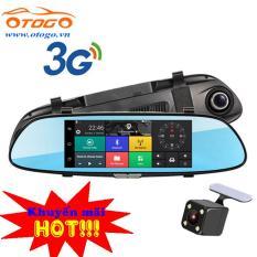 Camera hành trinh trên gương, Android, WIFI,3G