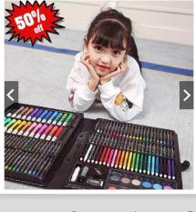 Bộ màu vẽ 150 món cho bé