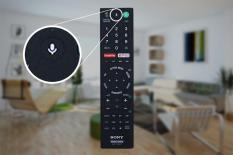 Điều khiển tivi Sony tích hợp tìm kiếm bằng giọng nói