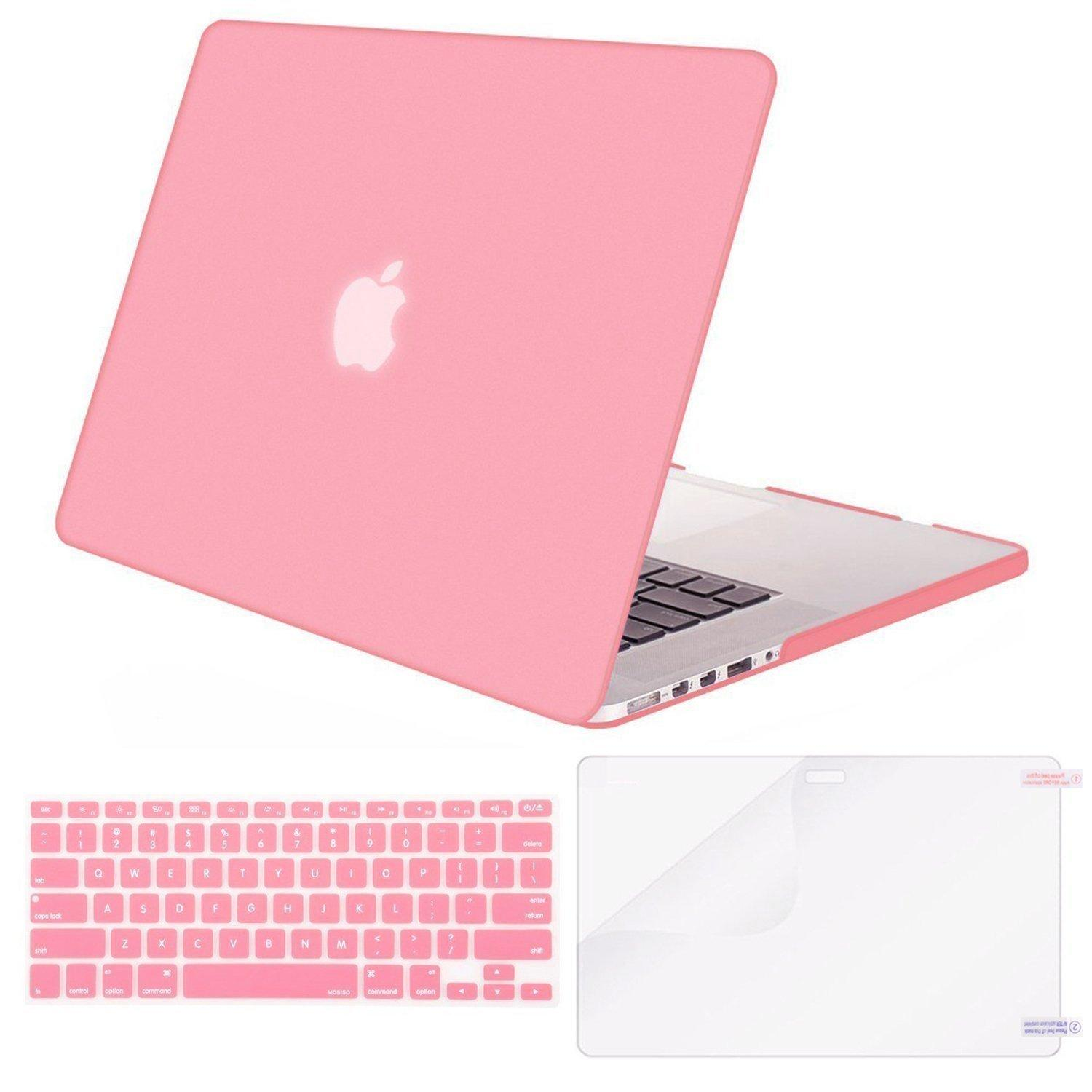 So sánh giá MacBook Air 13 Case Transparent Frosted Plastic Hard Shell Case Cover Bundle for Apple MacBook Air 13 Inch A1369/ A1466 Contains Keyboard Cover and Screen Protector Tại JKER TECH