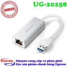 Cáp USB 3.0 to Lan vỏ nhôm Ugreen 20258