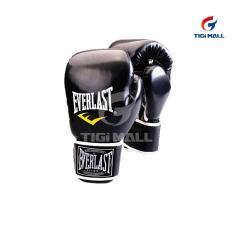 Găng tay chuyên dụng tập Boxing Everlast cho người 18-50 tuổi – màu đen