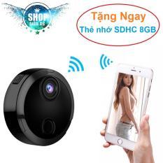 Camera siêu nhỏ thế hệ mới Full HD – Camera Mini Q15 Full HD 1080P – Tặng kèm thẻ nhớ SDHC 8GB