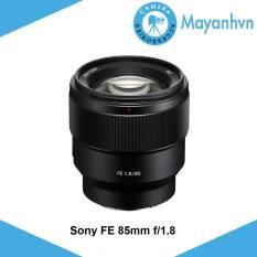 Ống kính Sony FE 85mm f/1.8 (hàng chính hãng)