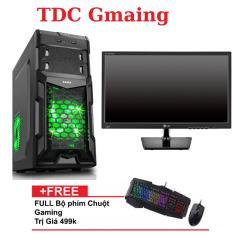 Máy tính game TDCGaming intel core i3 2100/ Ram 4gb/ Hdd 250gb , Màn hình LG 19 inch – Tặng phím chuột giả cơ chuyên game – Bảo hành 24 tháng 1 đôi 1.