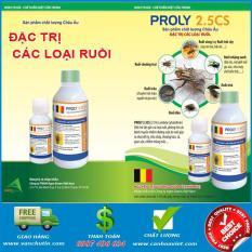 Bộ 02 chai Thuốc phun diệt ruồi Proly 2.5CS đặc trị diệt trừ các loại ruồi sản phẩm của Bỉ