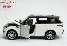 Xe mô hình sắt – Mô hình xe Range Rover Sport FX WELLY tỉ lệ 1:24 ( Trắng )