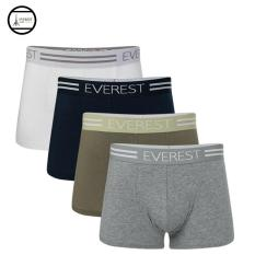 Bộ 4 quần lót nam cao cấp boxer EVEREST công nghệ Nhật Bản QH68303 (Nhiều màu)