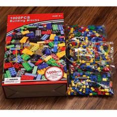 Bộ đồ chơi lắp ráp sáng tạo giá rẻ 1000 chi tiết Vega No.1888