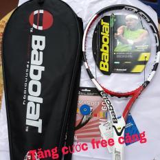 Vợt tennis Babolat 300g đỏ trắng