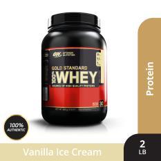 Thực phẩm bổ sung Optimum Nutrition Tăng Cơ – Whey protein – Gold Standard 100% Whey vị Vanilla Ice Cream2 lbs