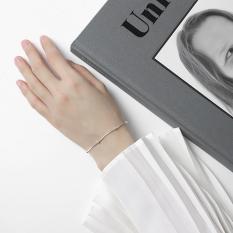 Lắc tay nữ bạc thật 925 mạ bạch kim JK Silver – kiểu dáng trendy trẻ trung-J041826