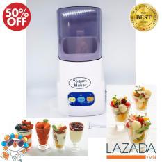 Máy Làm Sữa Chua Tại Nhà Yogurt Maker Nhật Bản, Chất Lượng, tiện dụng cho ngày hè, giải nhiệt Mẫu YMJ-1293 đa năng, Ban may lam sua chua, Cách chăm sóc da, Bảo hành 1 đổi 1 bởi Raccoon Shop