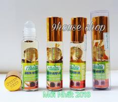 05 Dầu Nhân Sâm Green Herb Oil Thái Lan (NỘI ĐỊA THÁI) 8ml x 5chai