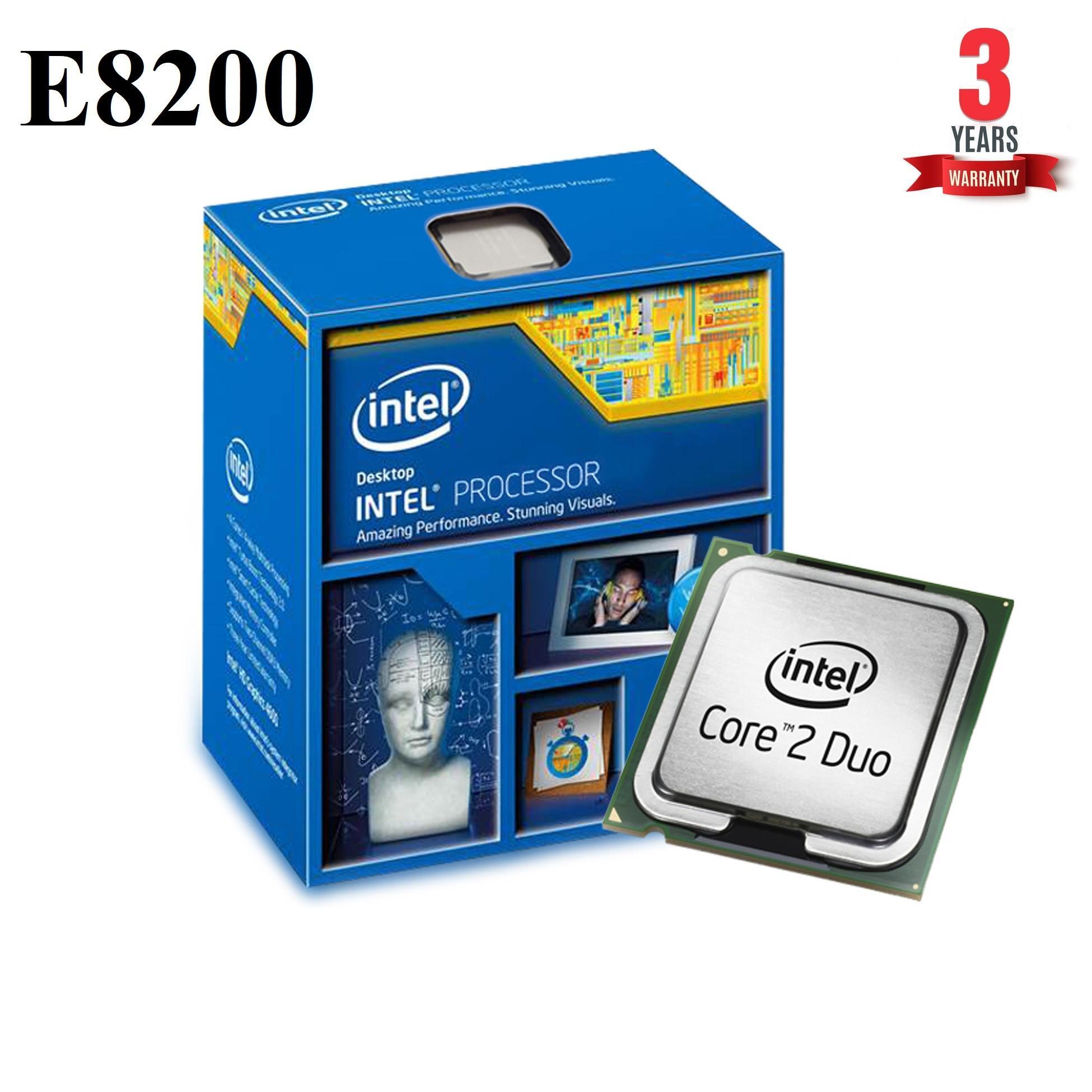 Bộ vi xử lý Intel CPU Core 2 Duo E8200 ( 2 lõi - 2 Luồng) - Hàng Nhập Khẩu