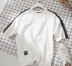 Áo phông nam nữ tay lỡ Unisex VẢI THÁI BỀN ĐẸP dáng chuẩn nhiều màu êm thoáng mát dễ chịu- Thời trang Evolpo (trắng đen nâu)