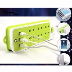 Ổ cắm điện đa năng 3 cổng USB có công tắc