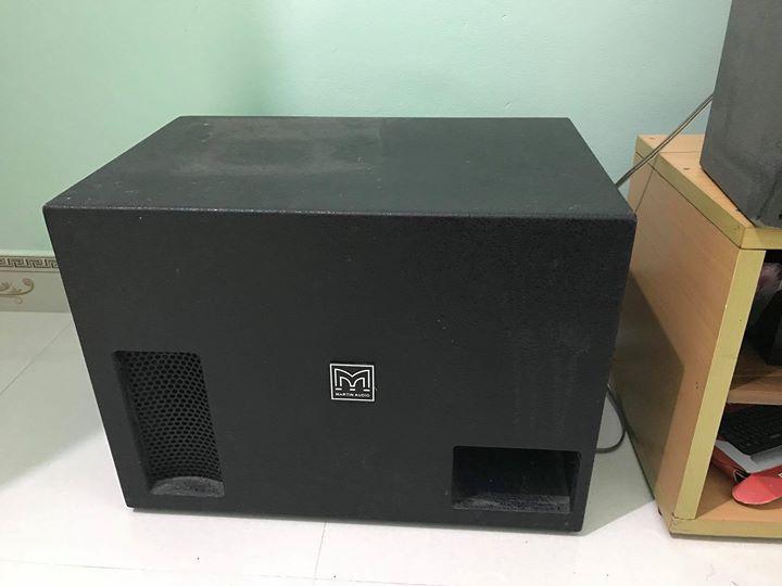 Loa sub điện bass 40 Martin M1800-Loa siêu trầm cao cấp và hiện đại