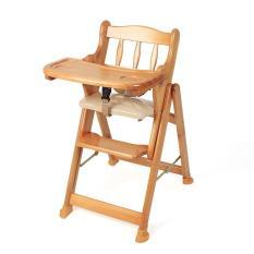 Ghế ăn bột bằng gỗ cao cấp Autoru, tăng giảm 4 cao độ